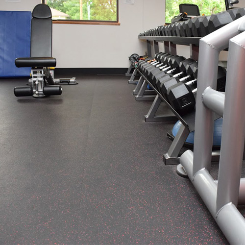 Rubber Flooring Options and Ideas