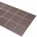 Honeycomb Medium Duty Rubber Mat