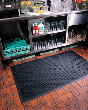 Ridge Scraper Rubber Mat 3 x 10 feet