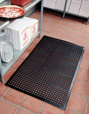 VIP-Topdek Senior Black Mat 3 feet x 9 feet 10 inches