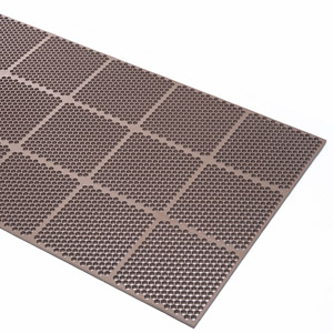 Honeycomb Medium Duty Brown Mat 3 x 3 feet
