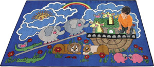Noahs Ark 3 feet 10 inches x 5 feet 4 inches