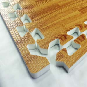 Foam Tiles Wood Grain