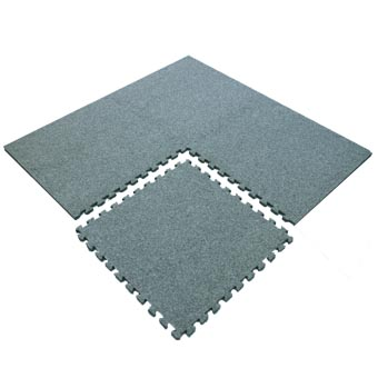 Interlocking Carpet Tiles 10x10 Ft Kit