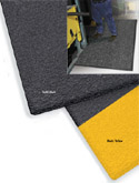 ErgoFlex 3/8 inch thick by 3x5 feet Black/Yellow