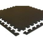 Geneva Rubber Tile 1/4 Inch Black 18x18 Inch