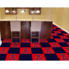 Carpet Tile MLB Los Angeles Angels 18x18 Inches 20 per carton
