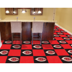Carpet Tile MLB Cincinnati Reds 18x18 Inches 20 per carton