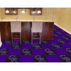 Carpet Tile MLB Colorado Rockies 18x18 Inches 20 per carton