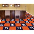 Carpet Tile MLB Detroit Tigers  18x18 Inches 20 per carton