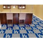 Carpet Tile MLB Los Angeles Dodgers 18x18 Inches 20 per carton