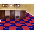 Carpet Tile MLB Philadelphia Phillies 18x18 Inches 20 per carton