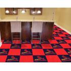 Carpet Tile MLB St. Louis Cardinals 18x18 Inches 20 per carton