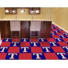 Carpet Tile MLB Texas Rangers 18x18 Inches 20 per carton