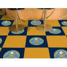 Carpet Tile NBA Denver Nuggets 18x18 Inches 20 per carton