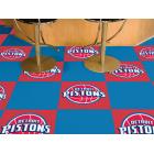Carpet Tile NBA Detroit Pistons 18x18 Inches 20 per carton