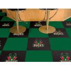 Carpet Tile NBA Milwaukee Bucks 18x18 Inches 20 per carton