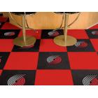 Carpet Tile NBA Portland Trail Blazers 18x18 Inches 20 per carton
