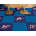 Carpet Tile NBA Oklahoma City Thunder 18x18 Inches 20 per carton