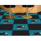 Carpet Tile NHL San Jose Sharks 18x18 inches 20 per carton