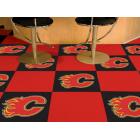 Carpet Tile NHL Calgary Flames 18x18 inches 20 per carton