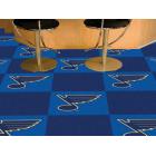 Carpet Tile NHL St. Louis Blues 18x18 inches 20 per carton