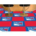 Carpet Tile NHL New York Rangers 18x18 inches 20 per carton