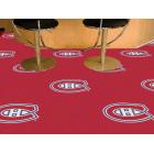 Carpet Tile NHL Montreal Canadiens 18x18 inches 20 per carton