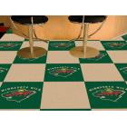 Carpet Tile NHL Minnesota Wild 18x18 inches 20 per carton