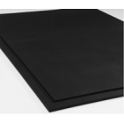 4x6 Ft x 3/8 Inch Gym Rubber Floor Mats Black