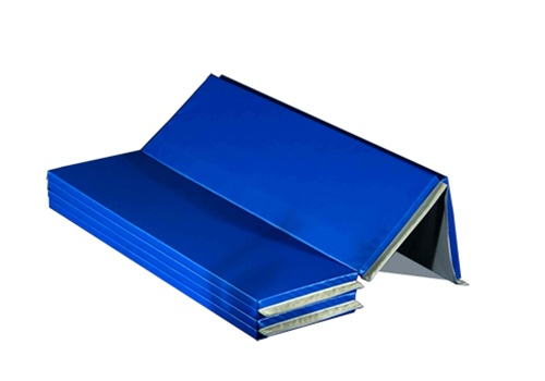 Folding Mat 5x10 ft x 2 inch V2 - 18 oz