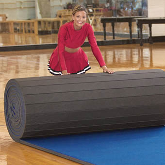 Cheer Rolls 6x42 ft x 2 Inch Poly, Flex