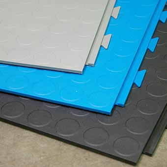 Hidden Lock Floor Tile Coin Top