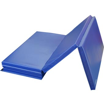 Gym Mats 4x10 Ft x 2 inch V4 18oz Blue