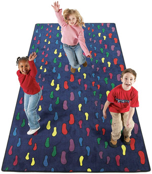 Footprints - 12 x 6 feet