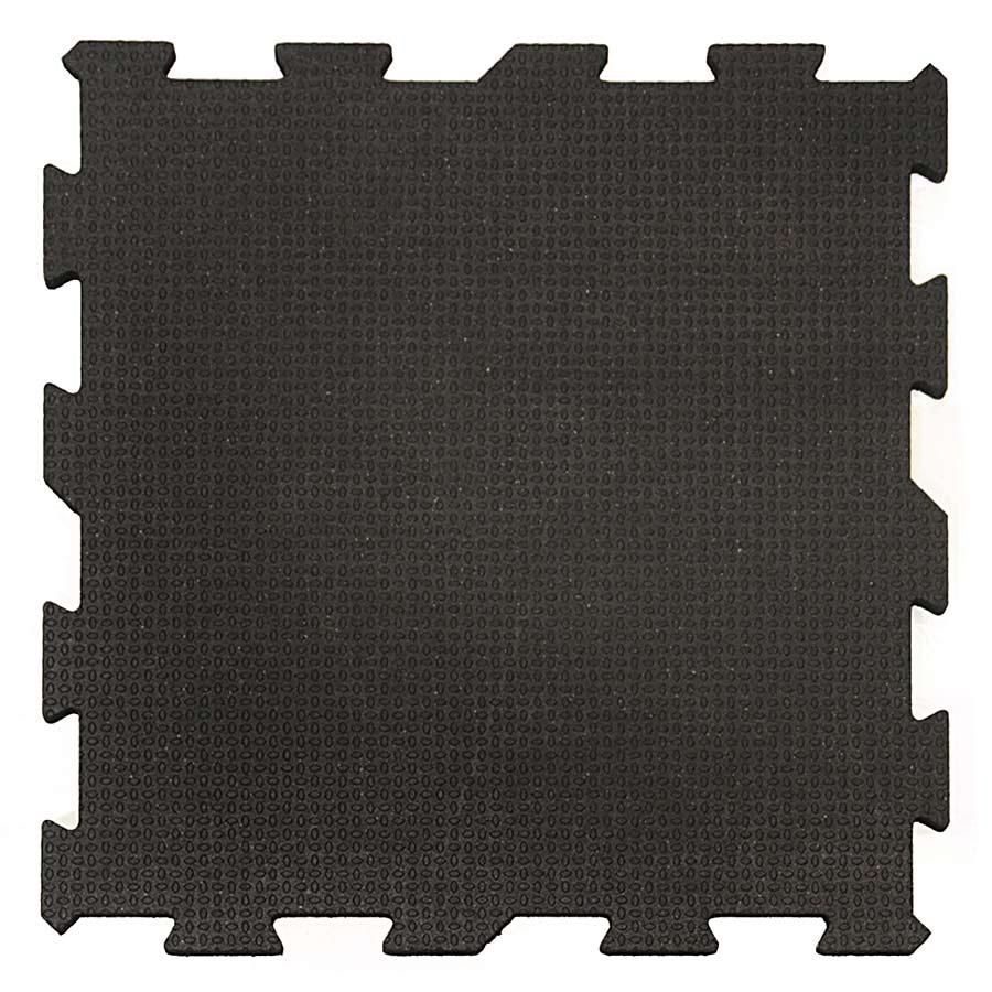2x2 Ft x 3/4 Inch Interlocking Black Punter Top