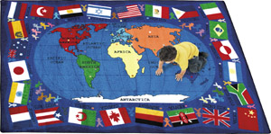 Flags Of The World 7 feet 8 inches x 10 feet 9 inches