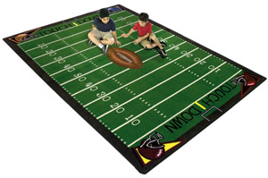 Football Fun 5 feet 4 inches x 7 feet 8 inches