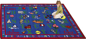 Phonics Fun 5 feet 4 inches x 7 feet 8 inches