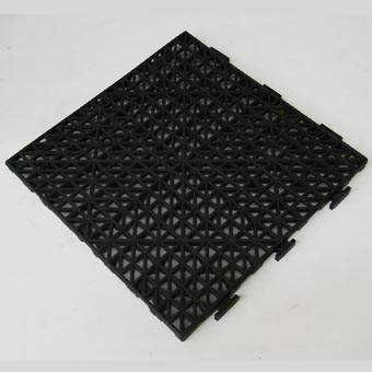 Perforated Deck and Roof Tile Black