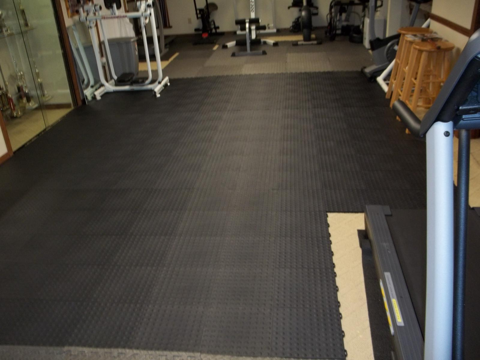 Fatigue Floor Tile Aerobic Staylock Bump Top