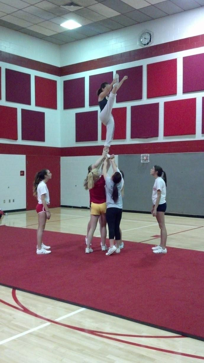 Carpet Competition Cheerleading School Mats With Flexi