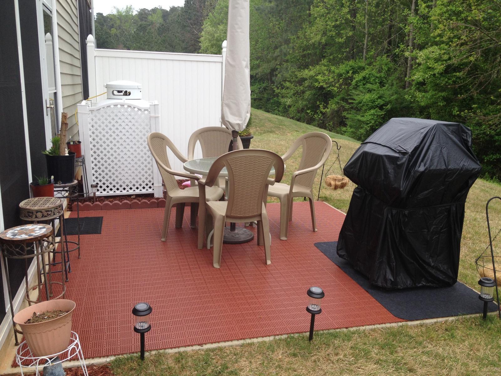Interlocking Deck Tiles Outdoor Flooring