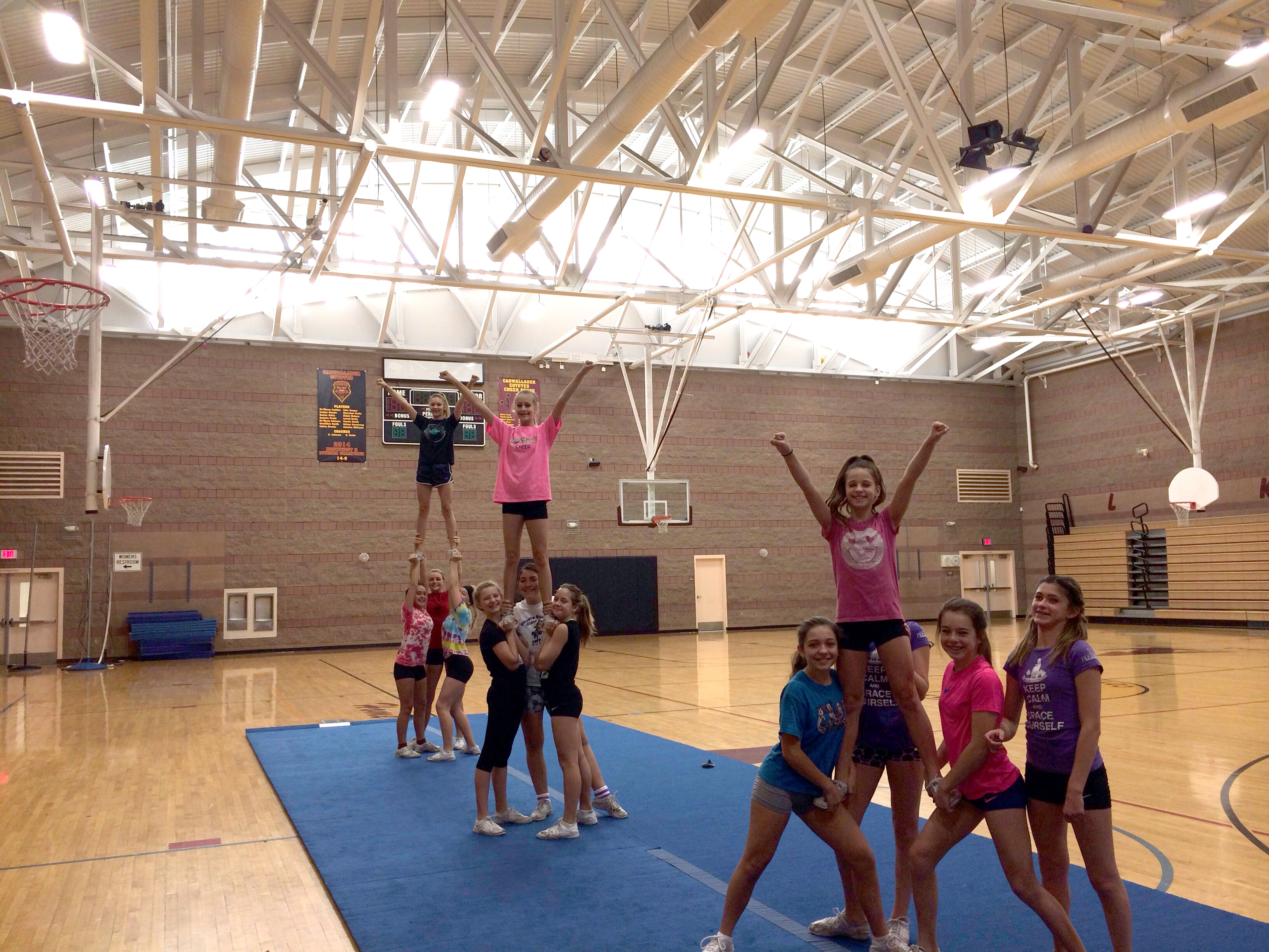 Cheerleading Mats Competition Cheer Mat Flexi Roll