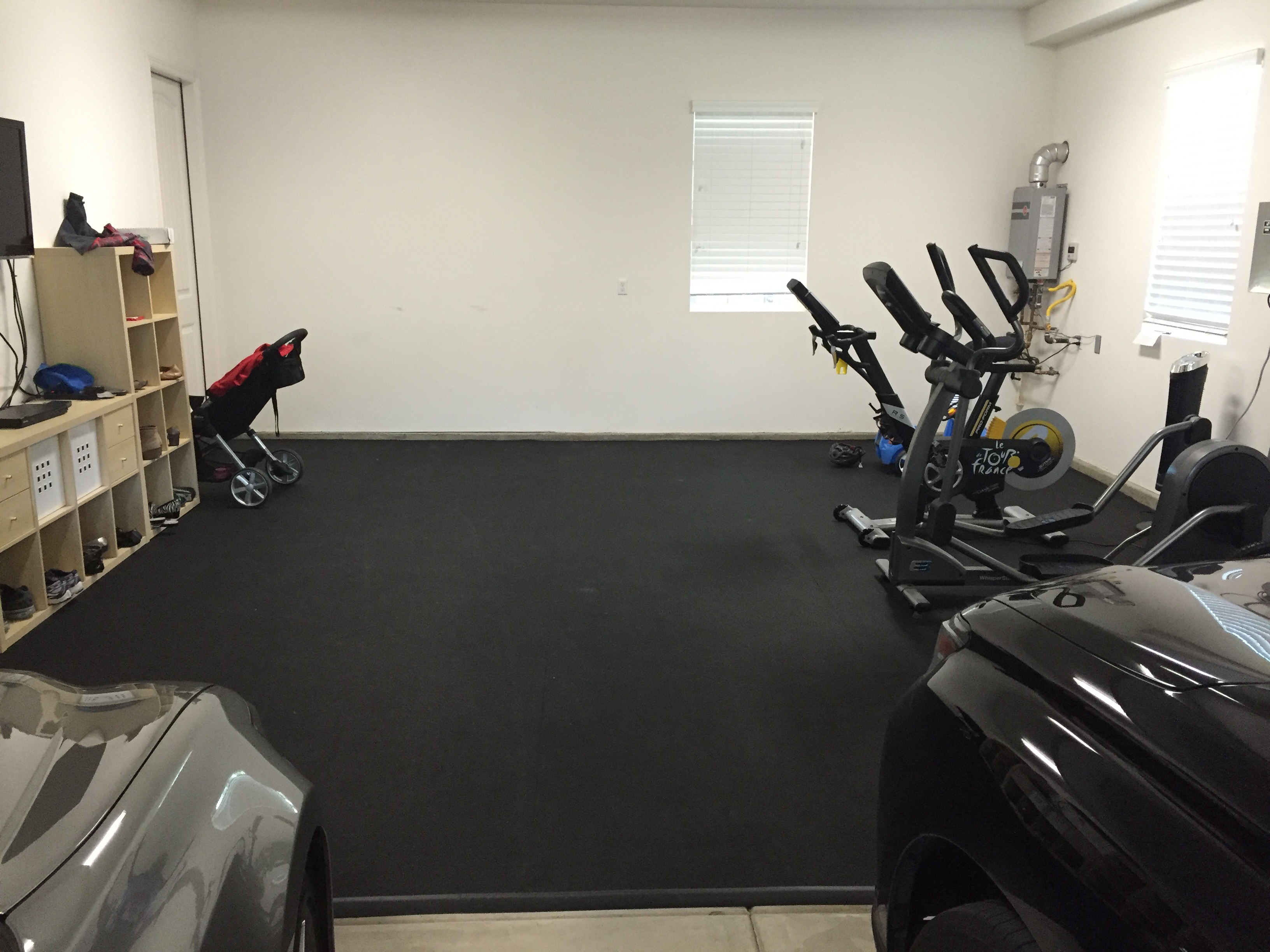 Rubber Garage Flooring