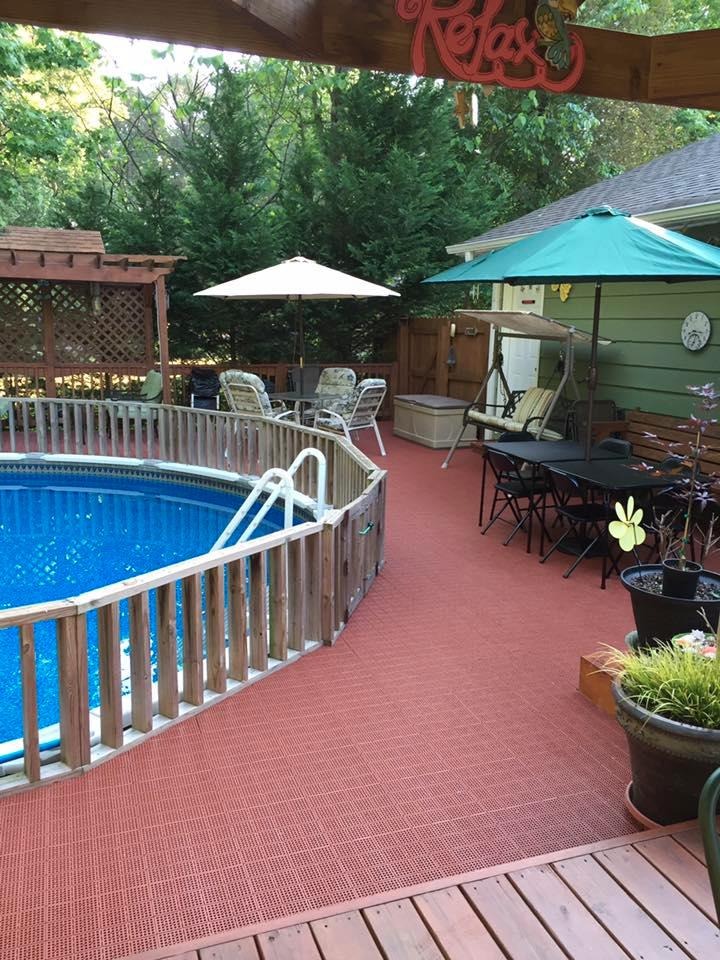 Interlocking Patio Tiles Pool Patio Tile That Interlock
