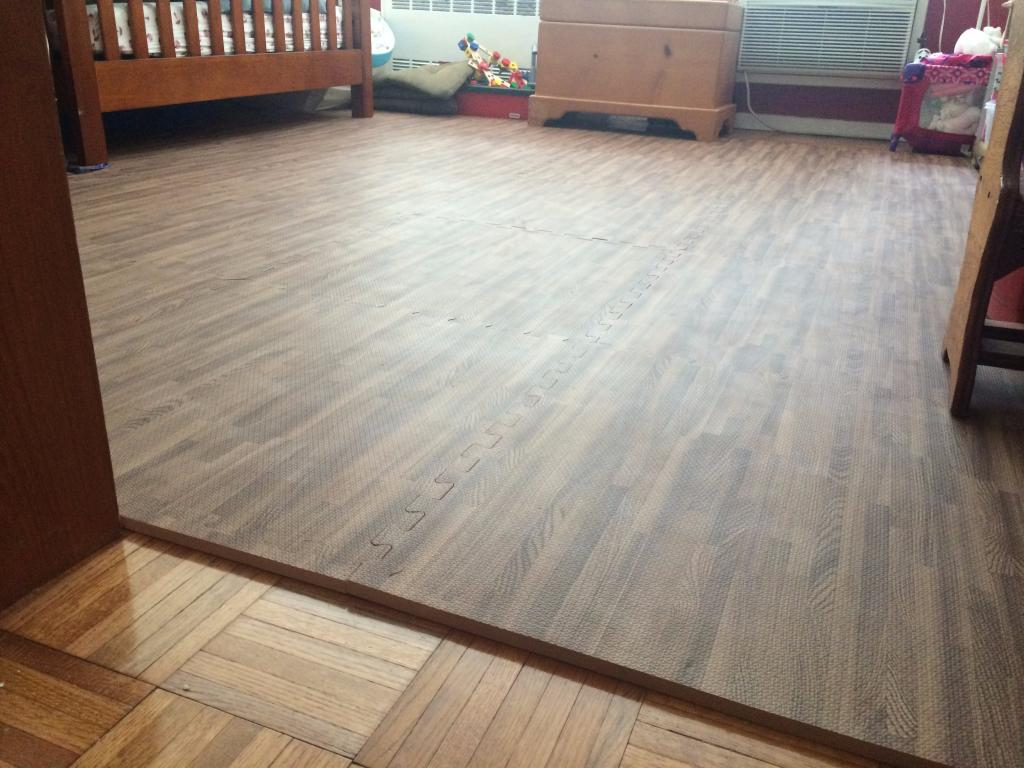 wood grain foam tiles interlocking foam floor tiles. Black Bedroom Furniture Sets. Home Design Ideas