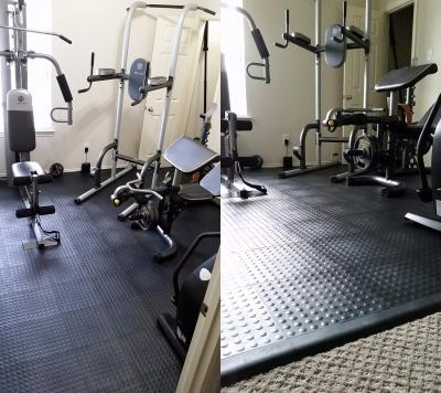 Home Gym Flooring Over Carpet Options And Ideas