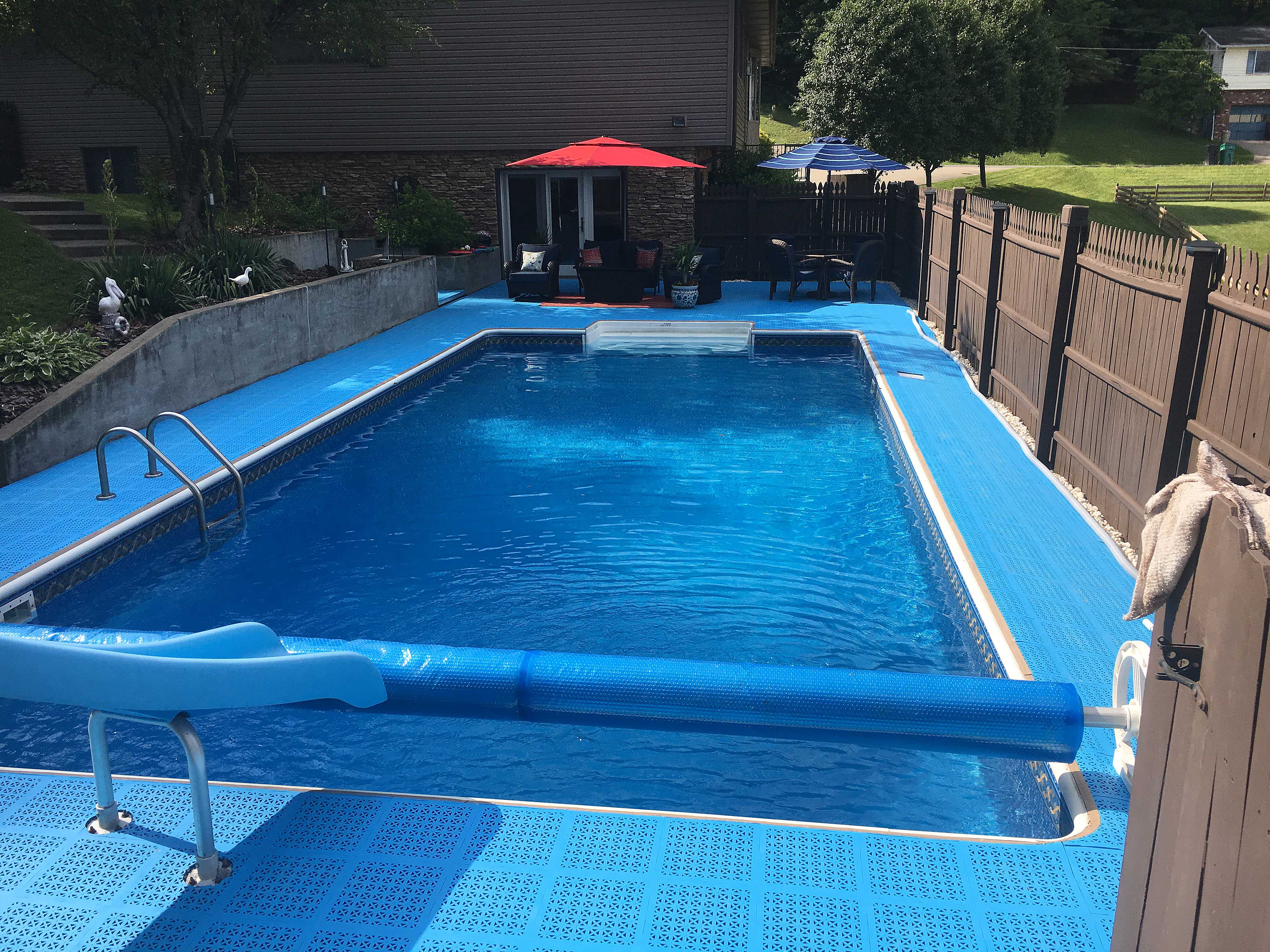 liner vinyl padding watch pool youtube install floor a how in to swimming