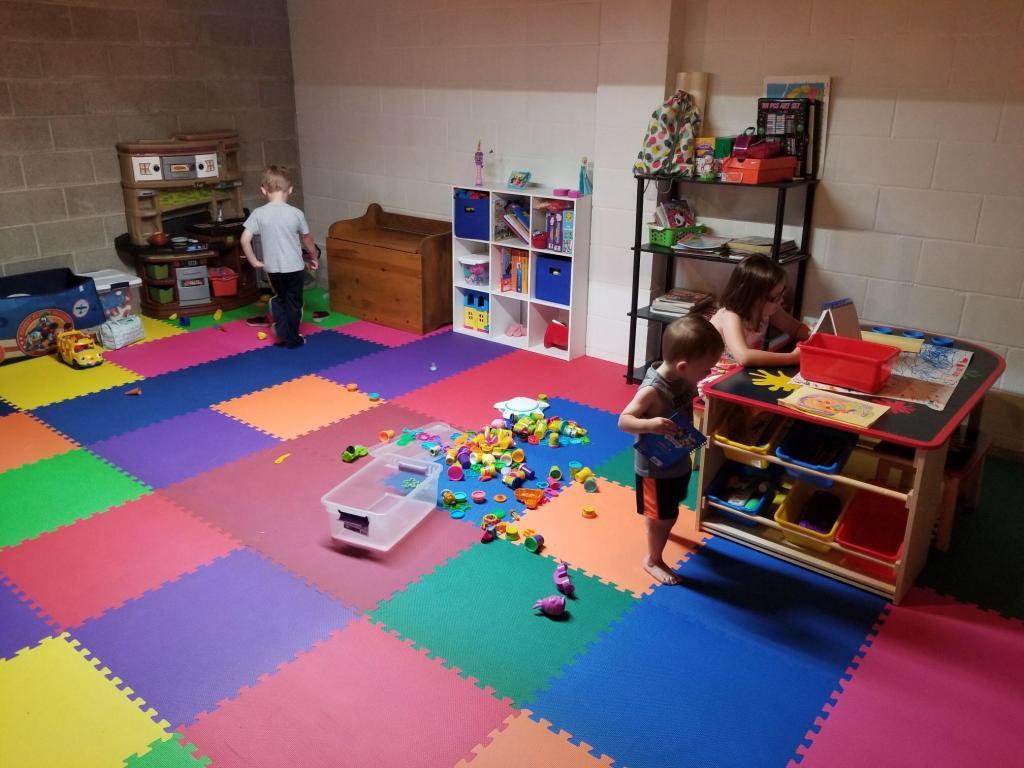 Xl foam floor mats childrens kids flooring play lowered for Floor kids review